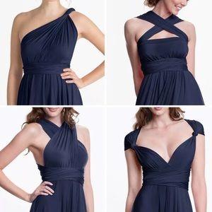 HENKAA Sakura Maxi Convertible Infinity Dress O/S